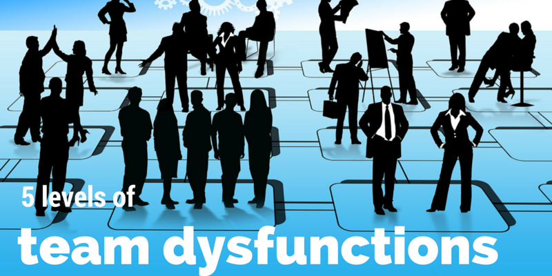 The 5 levels of team dysfunctions