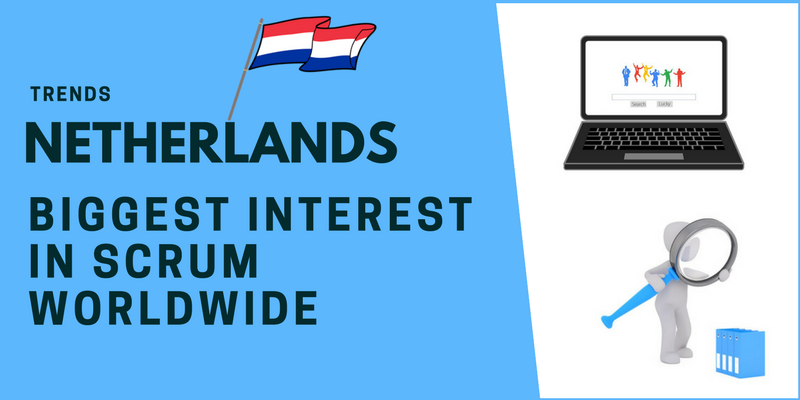 Netherlands biggest interest in Scrum worldwide